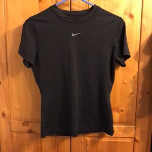 Nike black work out too size s